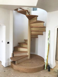 custom made staircases by Van's Cabinet Shop