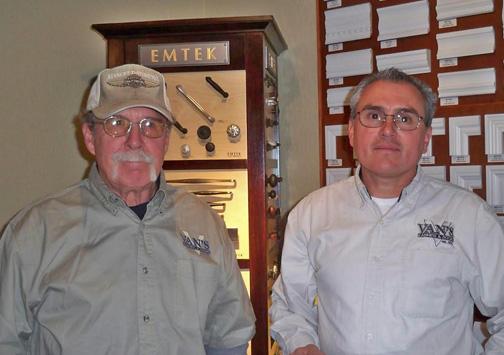 David Fickel & Dave Guzman - Van's Cabinet Shop located in Sonora California